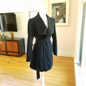 Love Tree Classic Wrap Coat